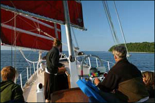 Door County Sailing Adventure in Fish Creek, Wisconsin